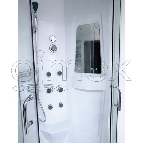 dusche lorene duschtempel komplett duschkabine 90x90. Black Bedroom Furniture Sets. Home Design Ideas