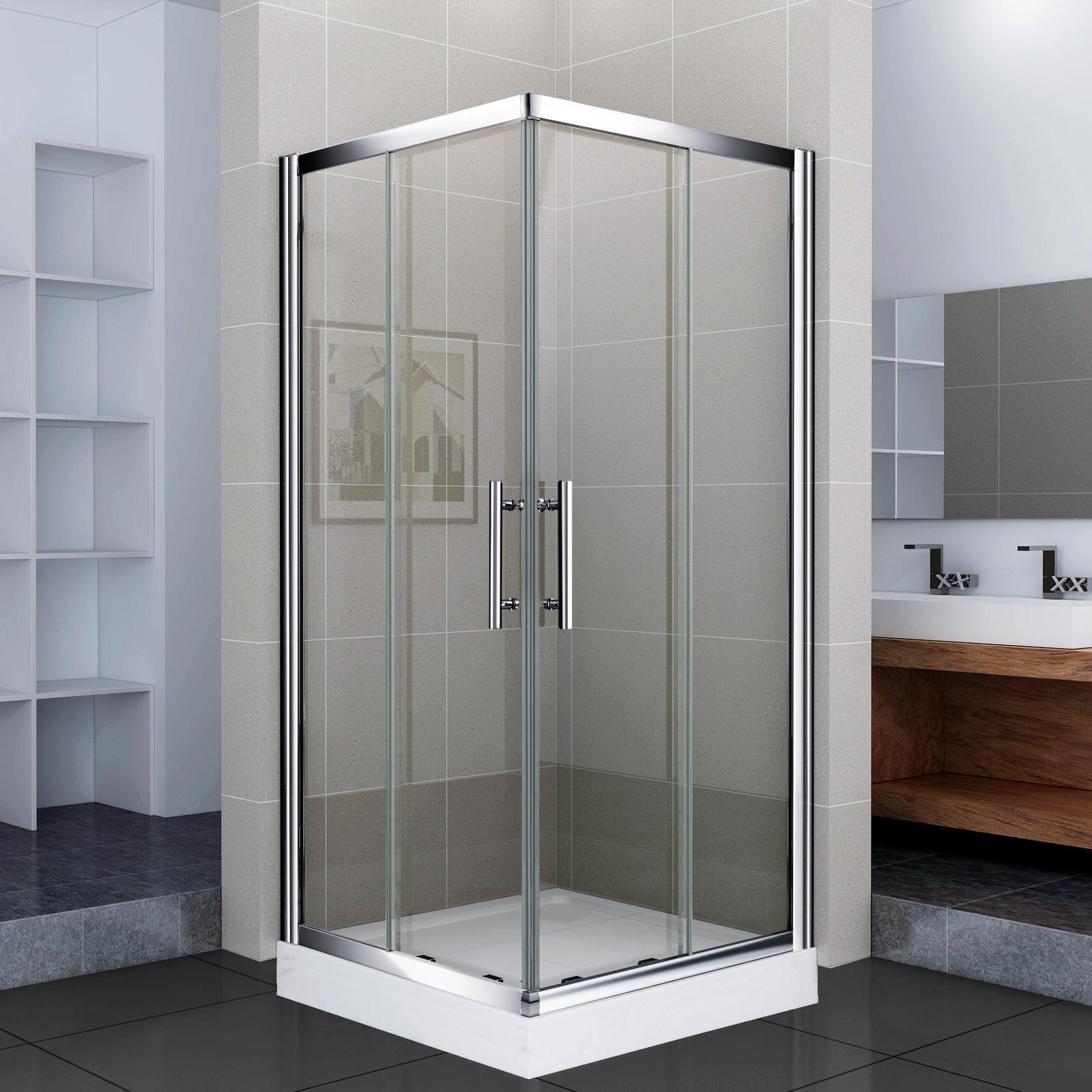 80x80x195 duschkabine komplett duschabtrennung dusche duschwand eckdusche ebay. Black Bedroom Furniture Sets. Home Design Ideas