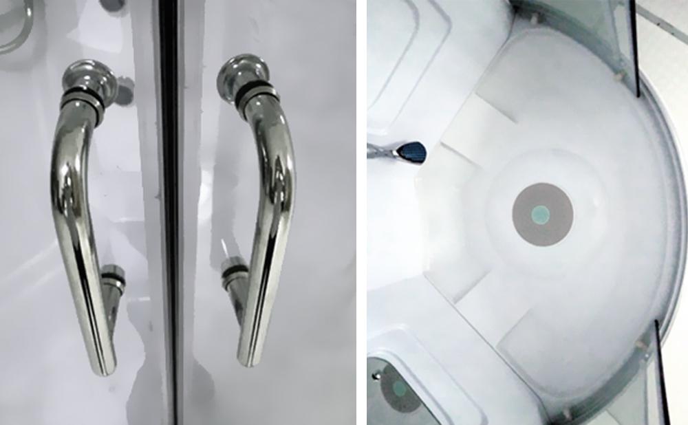 dusche lorene duschtempel komplett duschkabine 90x90 oi9031 100x100 oi1031 ebay. Black Bedroom Furniture Sets. Home Design Ideas