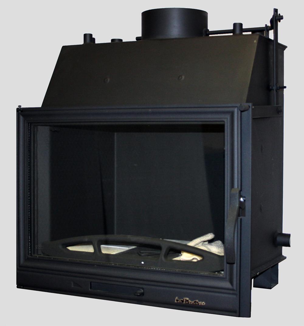wasserf hrend kamin15 kw kamineinsatz ofen einsatz kaminofen kaminkasette ebay. Black Bedroom Furniture Sets. Home Design Ideas